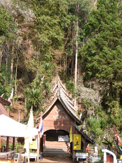 Entrance to Chiang Dao Cave.