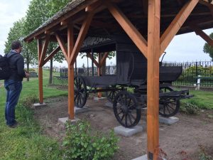 The original village hearse.